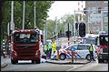 Fietser overleden na aanrijding met vrachtwagen in Amsterdam [+foto]