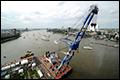 Nieuwe Maas gedeeltelijk afgesloten voor scheepvaart tijdens Wereldhavendagen