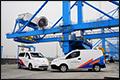 35 elektrische Nissans in bedrijf bij APM Terminals