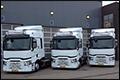 Drie Renault trucks T430 4x2 X-Low voor Prologics Transport