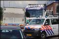 Dader steekpartij kaapt vrachtwagen: chauffeur lichtgewond [+foto]
