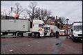 Naast overlast ook werk voor transporteurs door NSS 2014 [+foto's & video]
