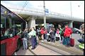 Twee gewonden bij ongeval met tram en bus in Amsterdam [+foto's]