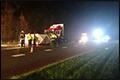 Vier doden bij zeer ernstige aanrijding met vrachtwagen op N381 [+foto]
