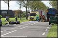 Twee doden bij ongeval tussen vuilniswagen en motor op N285 [+foto]