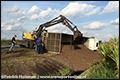 Vrachtwagen met aardappelen gekanteld op N391 [+foto]