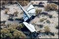 Ruimtevliegtuig SpaceShipTwo ontploft