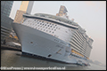 Grootste cruiseschip 'Oasis of the Sea' gearriveerd in Rotterdam [+foto's]