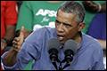 Obama met handen in het haar om provocaties Poetin
