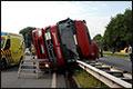 Tankwagen gekanteld op N325 [+foto's]
