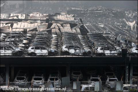 Schepen en containers uit Tianjin worden extra gecontroleerd