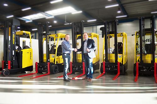 Doesburg Components vervangt heftruckvloot
