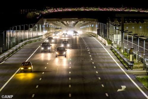 Technische problemen aan Ketheltunnel op nieuwe snelweg A4 [+foto]