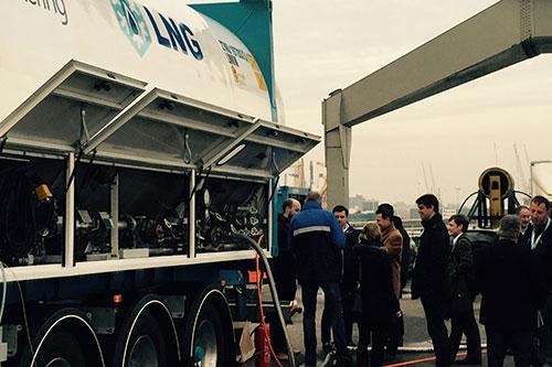 Nieuwe stimuleringsregeling voor schepen die LNG bunkeren in Rotterdam