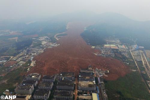Eerste lichaam gevonden na ramp Zuid-China
