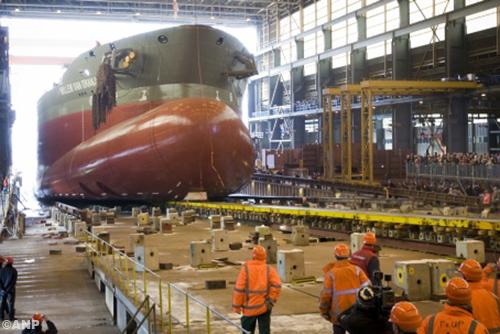 Principeakkoord over sociaal plan bij scheepsbouwer IHC