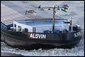 Vrachtschip 'Alsvin' niet gelost vanwege cao conflict
