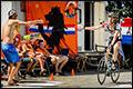 Nederlandse fans klaar voor Alpe d'Huez