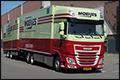 Truckland, DAF en Moeijes vieren vijftig jaar samenwerking met zes nieuwe DAF combi's