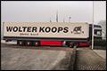 Oplegger Wolter Koops met 'brood roof' besmeurd [+foto]