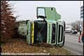 Vrachtwagen gekanteld in Lierop [+foto]