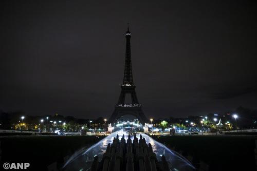 Valse melding schoten bij hotel Eiffeltoren