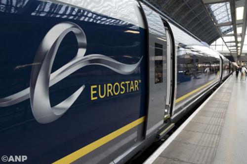 Reizigers nacht vast in Eurostar na botsing