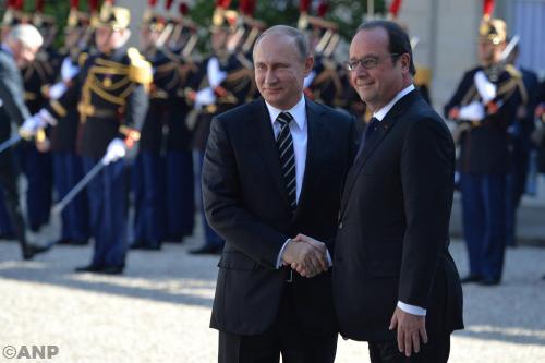 Poetin en Hollande gaan strijd coördineren