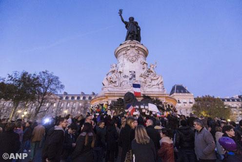 Even paniek op Place de la République [+video]
