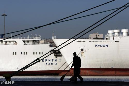 Staking en demonstraties in Griekenland