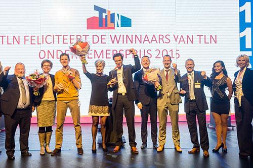Winnaars TLN Ondernemersprijs 2016 vandaag bekendgemaakt