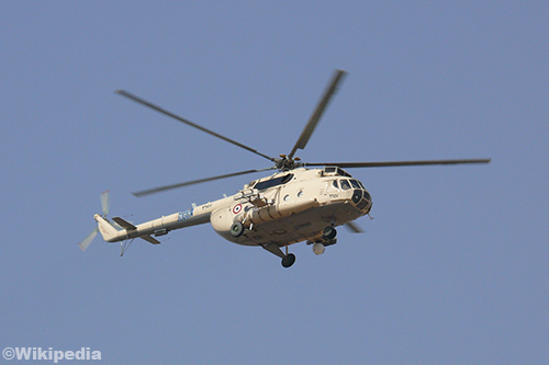 Doden door helikoptercrash Rusland