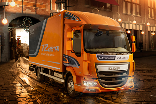 DAF introduceert nu ook extra stille LF distributietruck