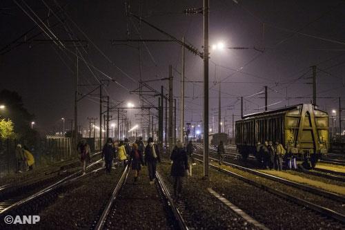 Eurotunnel ligt opnieuw stil door vluchtelingen