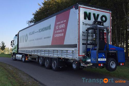 Acht nieuwe megatrailers voor NVO Transport