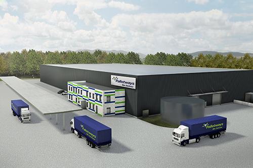 Palletways investeert in nieuwe Duitse hub
