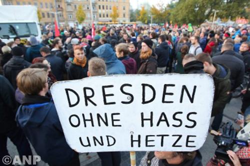 Pegida-aanhanger zwaargewond in Dresden
