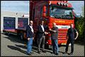 Nieuwe DAF XF 440 FT en NBT/Zwalve oplegger voor Loonbedrijf R.H. Dijkstra