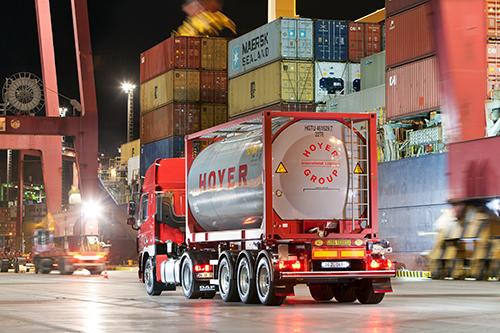 HOYER bouwt logistieke werkzaamheden uit