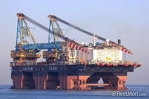 Broekman Logistics behandelt de Saipem 7000