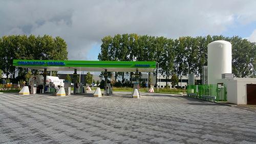 Rolande LNG opent LNG-tankstation in Veghel