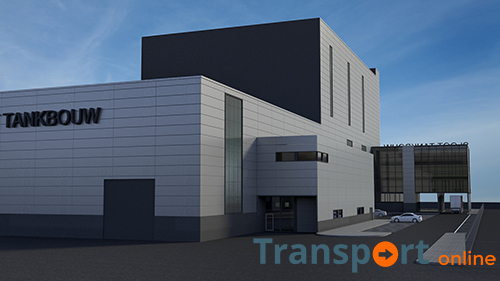 Bouw van nieuw kantoor Sloot Tankbouw is begonnen