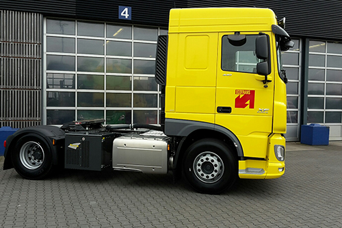 Nieuwe DAF XF voor Ecotrans