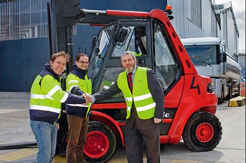 Record: 100.000 industriële heftrucks van Linde Material Handling besteld
