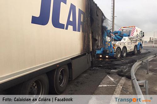 SP roept vrachtwagenchauffeurs op hun ervaringen met transporten via Calais te delen
