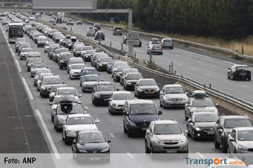 Een-na-drukste zaterdag op Franse wegen