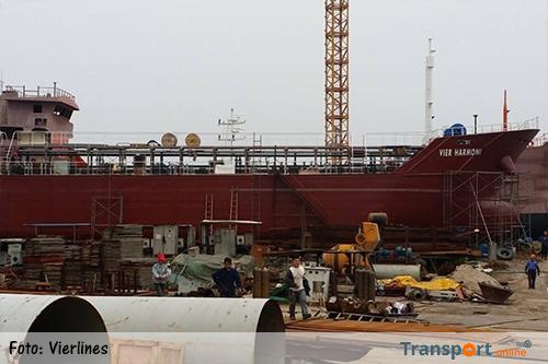Olietanker 'Vier Harmoni' met diesel gekaapt bij Maleisië [+foto's]