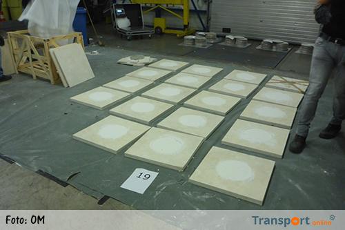 180 kilo heroïne in lading met marmeren tegels [+foto]