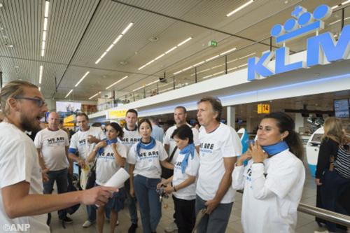 Rechter verbiedt stakingen bij KLM