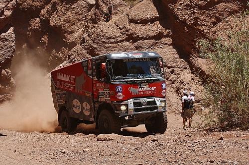 Team Mammoet komt tot wasdom in de woestijn